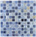 Mosaikfliese ECO Recycling GLAS ECO schwarz metallic 3D MOS355-99_f | 10 Mosaikmatten