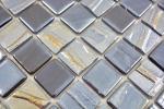 Mosaikfliese ECO Recycling GLAS ECO schwarz metallic 3D MOS355-99_m