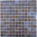 Mosaikfliese ECO Recycling GLAS ECO bronze oxide MOS360-07