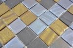 Mosaikfliese ECO Recycling GLAS ECO schwarz anthrazit satin gold bronze oxide MOS360-357_m