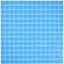 Mosaikfliese Glas blau Wandfliesen Badfliese Duschrückwand Fliesenspiegel MOS200-A14-N