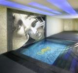 Mosaik Bild Glas gelb Bild Seehorse papierverklebt 1.100x430mm MOSMB-K33P_m
