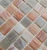Mosaikfliese Glas Goldensilk hellbeige Wandfliesen Badfliese Duschrückwand Fliesenspiegel MOS54-0104_m