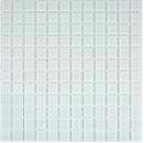 Mosaikfliese Transluzent Glasmosaik Crystal weiß BAD WC Küche WAND MOS63-0102