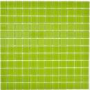 Mosaikfliese Transluzent Glasmosaik Crystal grün BAD WC Küche WAND MOS63-0507