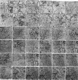 Mosaikfliese Transluzent Glasmosaik Crystal schwarz Struktur MOS126-CM4BL22