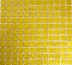 Mosaik Rückwand Transluzent Glasmosaik Crystal gold gehämmert MOS60-0707_f