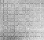 Mosaik Fliese Transluzent Glasmosaik Crystal silber gehämmert MOS60-0207