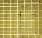 Mosaikfliese Transluzent Glasmosaik Crystal EP gold BAD WC Küche WAND MOS60-0706