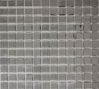 Mosaikfliese Transluzent Glasmosaik Crystal EP silber BAD WC Küche WAND MOS60-0206