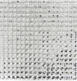 Mosaikfliese Transluzent kristall Glasmosaik Crystal Glitzer weiß MOS130-0204
