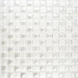 Mosaik Fliese Transluzent weiß Glasmosaik Crystal Lüster weiß MOS88-8LU90