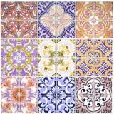 Retro Vintage Mosaikfliese Transluzent mehrfarben bunt Glasmosaik Crystal SPAIN MOS68-Retro-SP_f | 10 Mosaikmatten