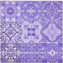 Retro Vintage Mosaikfliese Transluzent violett Glasmosaik Crystal ITALY MOS68-Retro-I_f | 10 Mosaikmatten
