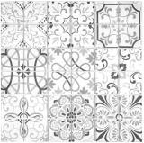 Retro Vintage Mosaikfliese Transluzent grau Glasmosaik Crystal GERMANY MOS68-Retro-G_f | 10 Mosaikmatten