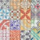 Retro Vintage Mosaikfliese Transluzent mehrfarben Glasmosaik Crystal Design MOS88-Retro-31