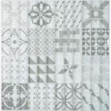 Retro Vintage Mosaikfliese Transluzent grau Glasmosaik Crystal Design grau MOS88-Retro-35