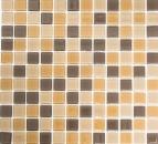 Mosaik Fliese Transluzent braun Glasmosaik Crystal braun MOS62-1302