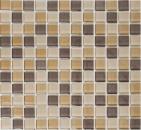 Mosaik Fliese Transluzent braun Glasmosaik Crystal braun MOS72-1302