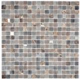 Mosaikfliese Transluzent Stein basalt BASALTO BAD WC Küche WANDMOS91-1244