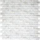 Mosaik Fliese Transluzent weiß Brick Glasmosaik Crystal Stein weiß MOS87-0111