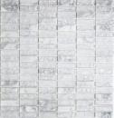 Mosaik Fliese Transluzent weiß Stäbchen Glasmosaik Crystal Stein weiß MOS87-s1211