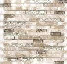 Mosaik Fliese Transluzent bernstein gold Verbund Glasmosaik Crystal Stein Onyx Eleganz gold MOS87-MV748