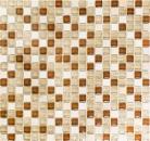 Mosaikfliese Transluzent beige Glasmosaik Crystal Stein beige MOS92-1204