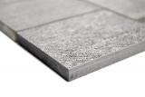 Mosaik Fliese Transluzent Keramik beige Rechteck Glasmosaik Crystal Keramik beige MOS88J-1202