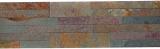 Wandverblender selbstklebend Schiefer Naturstein rostig Wandverblender Gold Rush MOS200-07V7R
