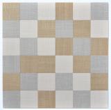 Mosaikfliese selbstklebend Aluminium creme beige grau metall Textiloptik MOS200-2622