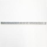 Borde Bordüre Aluminium silber Profil Pencil Alu Glitter silber 4er Pack MOSBor-PPAG208