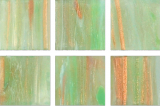 Glasmosaik hellgrün Mosaikfliese Glas Classic MOS230-GA21