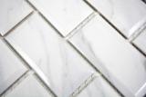 Keramikmosaik Metro Carrara Fliesenspiegel Küchenrückwand BAD Dusche MOS26M-0203_m