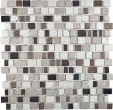 Transparentes Crystal Mosaik Glasmosaik coffee Wand Fliesenspiegel Küche  Bad
