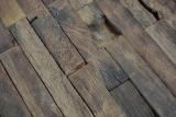 Holz Mosaik Verbund boot Old Wood Holz FSC Mosaikfliese Wand Fliesenspiegel Küche Bad MOS160-21_m