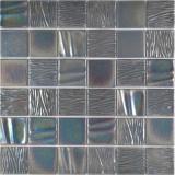 Keramik Mosaik Kanaan schwarz Mosaikfliese Wand Fliesenspiegel Küche Bad MOS14-0003_f