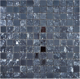 Keramik Mosaik Baku schwarz Mosaikfliese Wand Fliesenspiegel Küche Bad