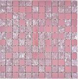 Keramik Mosaik Baku pink rose Mosaikfliese Wand Fliesenspiegel Küche Bad