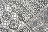 Keramik Mosaik schwarz Mosaikfliese Wand Fliesenspiegel Küche Bad MOS22B-0303_m