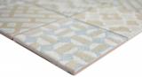 Keramik Mosaik picolo AZUL Mosaikfliese Wand Fliesenspiegel Küche Bad MOS22B-A04_m