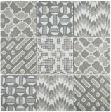 Keramik Mosaik picolo GRIGIO Mosaikfliese Wand Fliesenspiegel Küche Bad MOS22B-G02_f