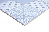 Keramik Mosaik COOL blau Mosaikfliese Wand Fliesenspiegel Küche Bad MOS22B-CB04_m