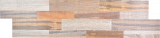 selbstklebender Wandverblender Vinyl Folie beige braun Holzoptik Rückwand Wandpaneel Küche Fliesenspiegel