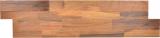 selbstklebender Wandverblender Vinyl Folie beige braun Holzoptik Eiche Rückwand Wandpaneel Küche Fliesenspiegel