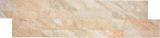 Wandverblender Vinyl Folie Steinoptik beige honig selbstklebend Rückwand Wandpaneel Küche Fliesenspiegel MOS200-W2202_f