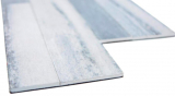 Wandverblender Vinyl Steinoptik grau selbstklebend Rückwand Wandpaneel Küche Fliesenspiegel