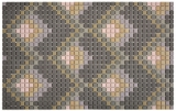 GLASMOSAIK Dekor dunkelgrau matt Mosaikfliese Wand Fliesenspiegel Küche Bad MOS140-RO6_f