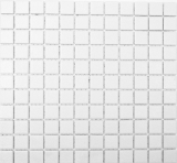Mosaikfliese RUTSCHEMMEND RUTSCHSICHER Boden WAND ALTWEISS MOS18-0102-R10