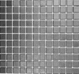 Mosaikfliese RUTSCHEMMEND RUTSCHSICHER DUSCHTASSE SOFT SCHWARZ MOS18-0311-R10